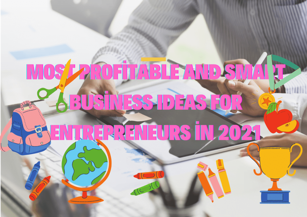 Most Profitable and Smart Business Ideas for Entrepreneurs in 2021