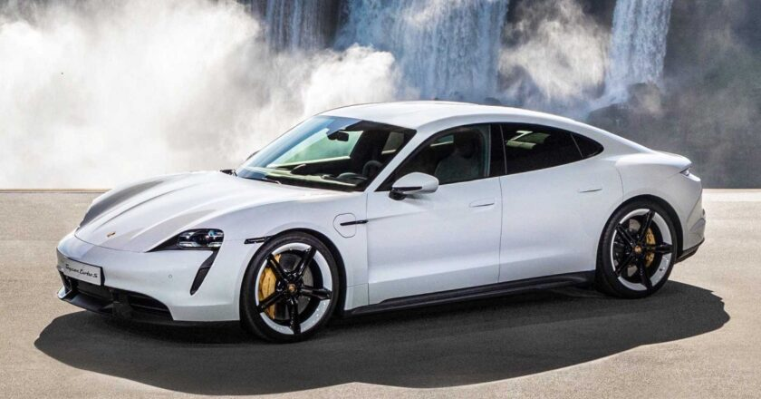 Porsche announced that they will recall electric Taycan models
