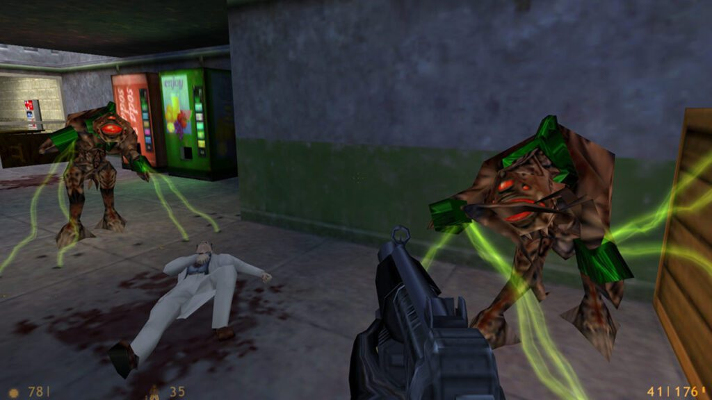 The first prototype of Half Life was shared on TikTok